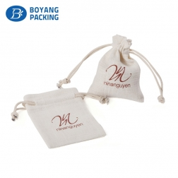 Customized High Quality  jewelry drawstring pouch bag