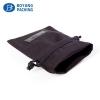 black velvet pouch