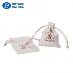 White environmental protection linen bag