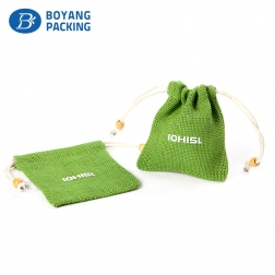 Factory Supply Good Quality Drawstring Gift Pouch