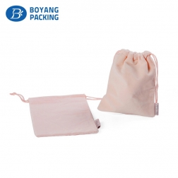 Small pink bag comes from the jewellery bag manufacturers