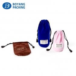 Multi-colored round velvet bag wholesale