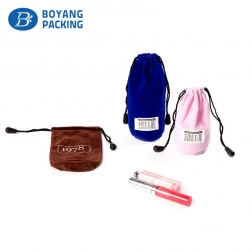 Wholesale custom velvet drawstring pouch