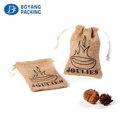 Custom logo printing small gift pouches