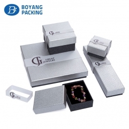 New design paper custom logo printed jewelry boxes