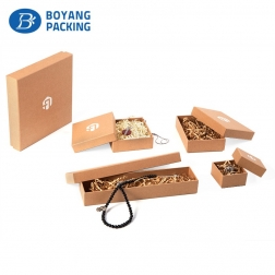 Custom wholesale paper jewelry box set maker
