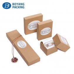 fashion cheap craft paper Jewelry box