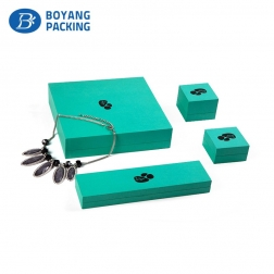 Wooden jewelry packaging manufacture boxes