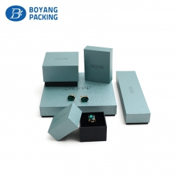 wholesale logo custom beautiful jewellery box