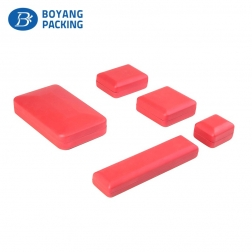 red fancy plastic jewelry boxes wholesale manufacturer
