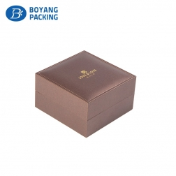 Customized manufacture PU leather jewelry box