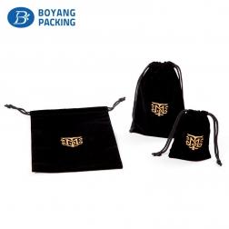exquisite logo jewelry bag velvet