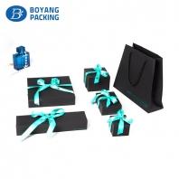 custom black plastic jewellery box factory