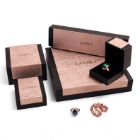 Customized logo wholesale plastic jewellery box