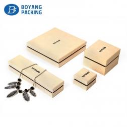 Luxury custom paper Jewelry gift box