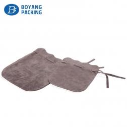 Custom small velvet drawstring bag