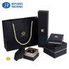 Black jewelry boxes wholesale necklace boxes