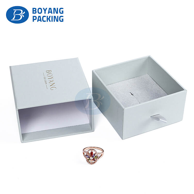 Wholesale necklace boxes, jewelry ring box packaging factory