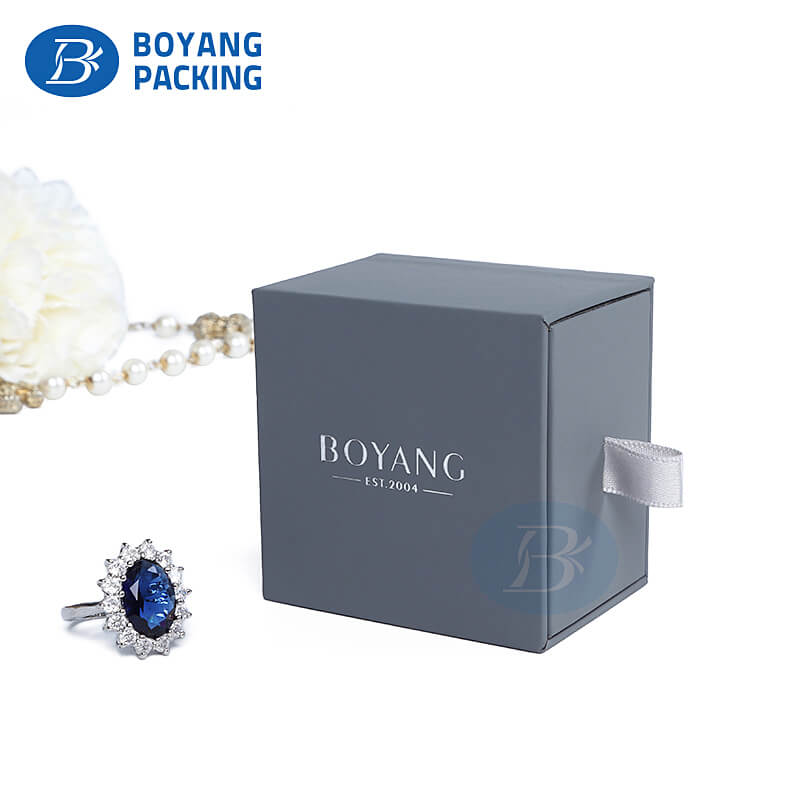 Wholesale jewelry ring boxes jewelry packaging boxes supplier