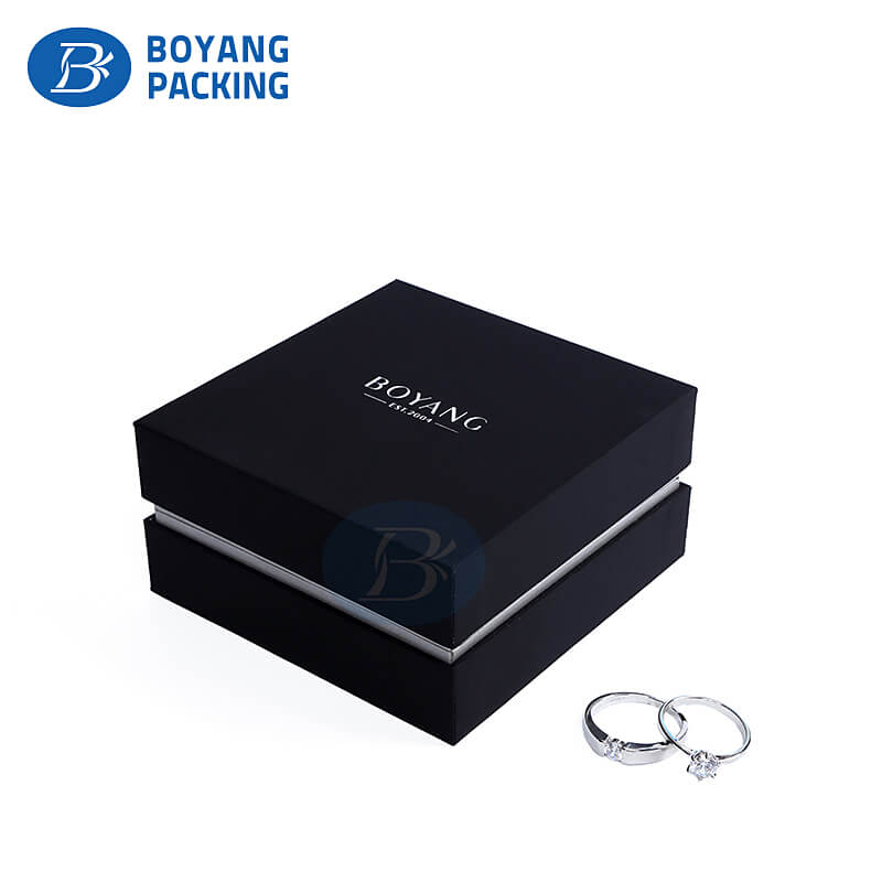 Jewelry boxes packaging supplies in China