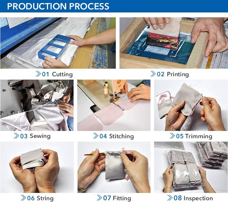 Process of velvet pouch suppliers