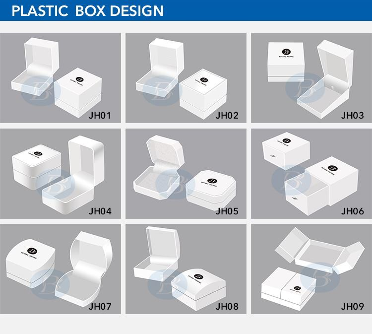 fancy plastic jewelry boxes design