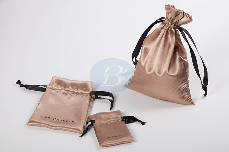 high-grade satin jewelry bag