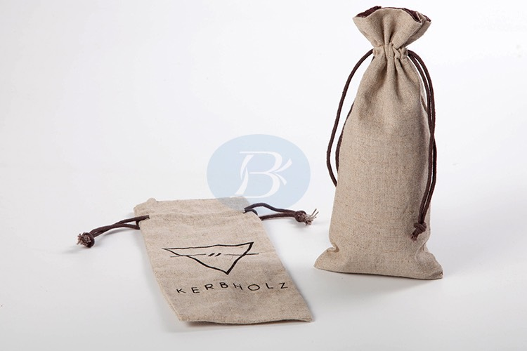 attractive jute drawstring bag