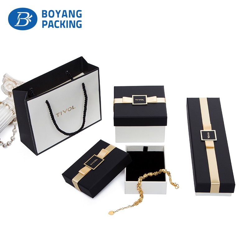 High quality customized jewelry packaging wholesale