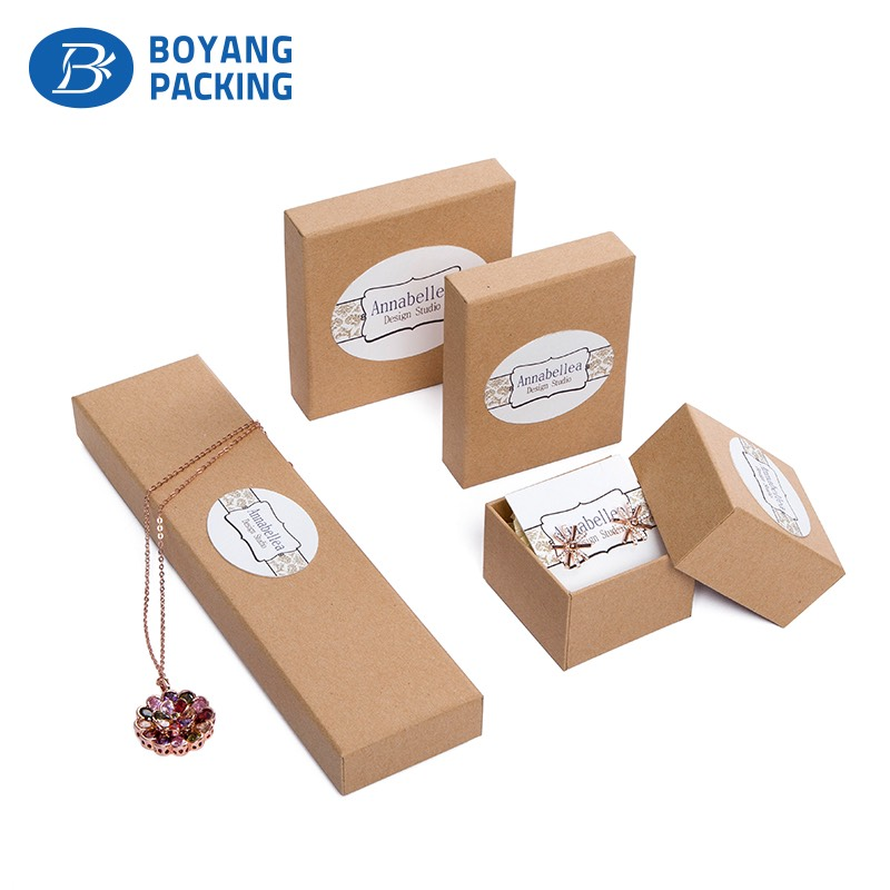 fashion cheap craft paper Jewelry box