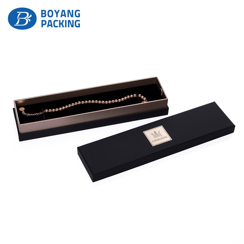 Rose gold jewelry boxes Jewelry packaging set