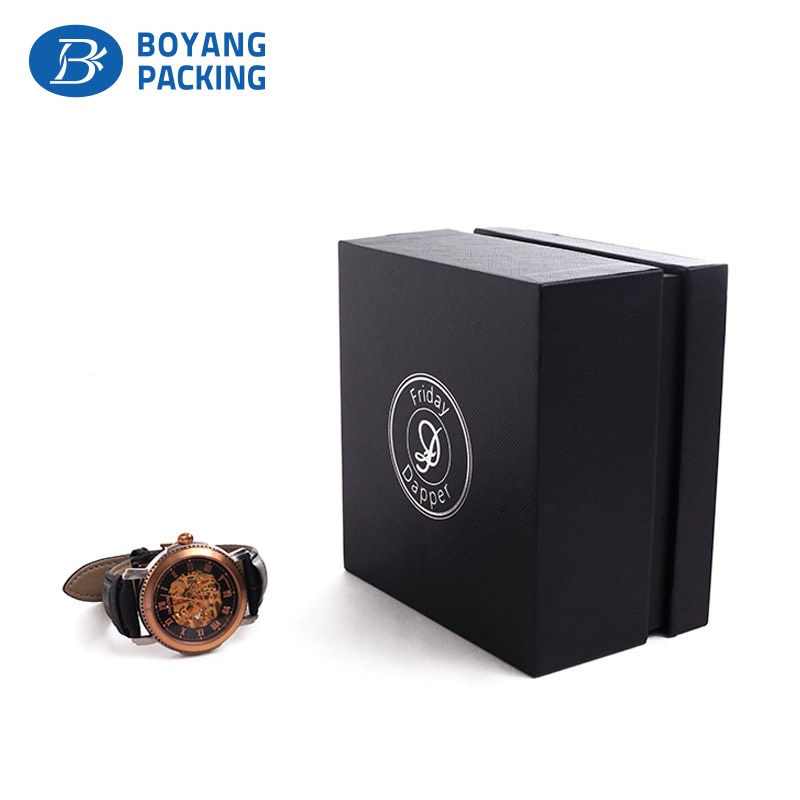 Professional and experienced custom watch box manufacturer for Custom jewelry packaging manufacturers