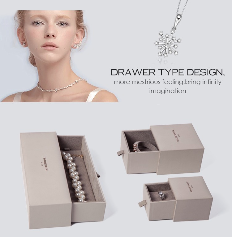 Custom paper jewelry box sets manufacturer jewelry for Custom jewelry packaging manufacturers