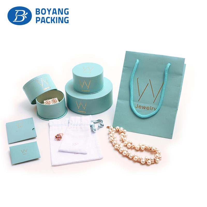 custom green circular jewellery boxes factory Jewelry box