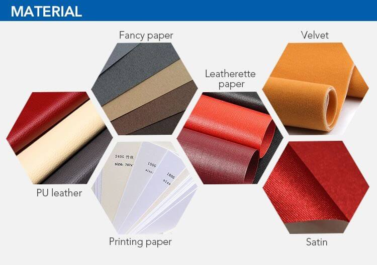 paper jewelry boxes material