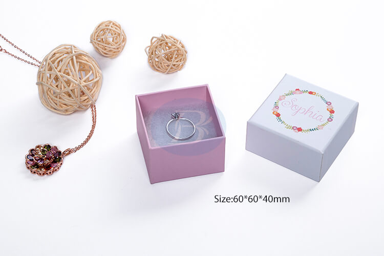 china small ring jewellery packaging factory
