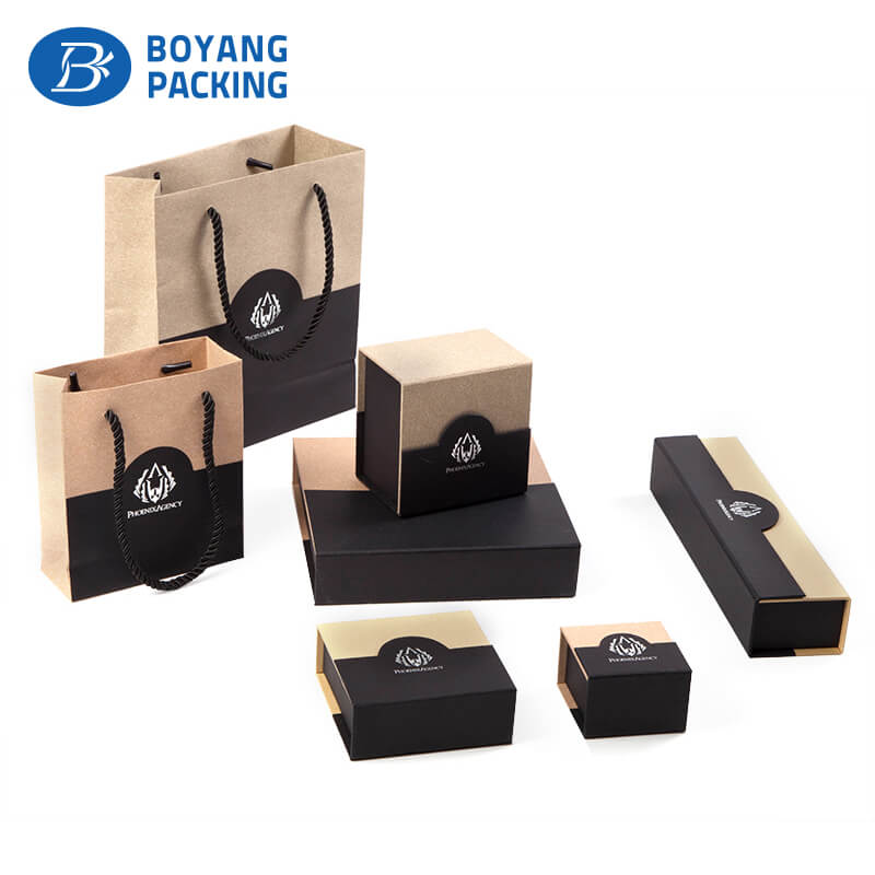 Custom unique design watch paper box, watch box suppliers