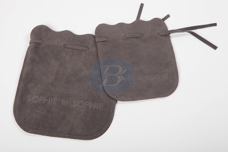 custom velvet drawstring pouch bag factory