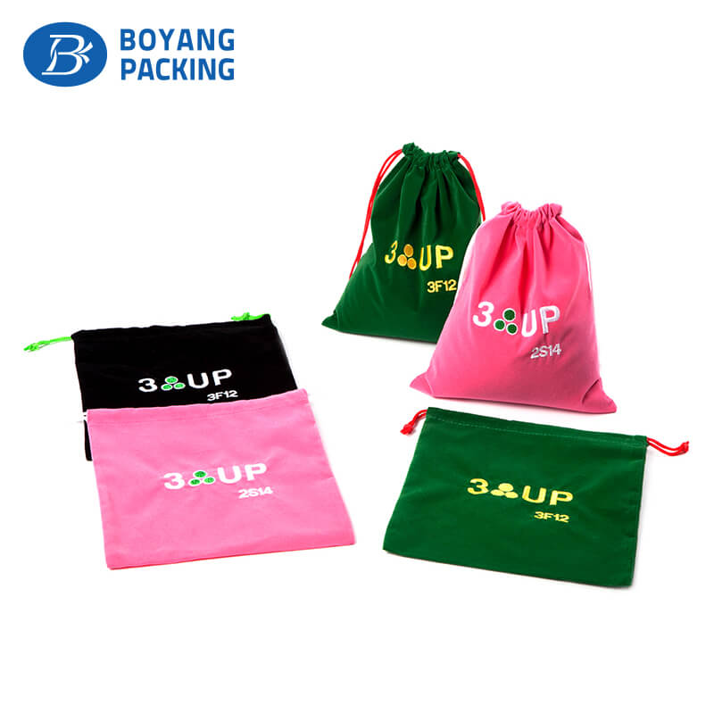 drawstring jewelry bags