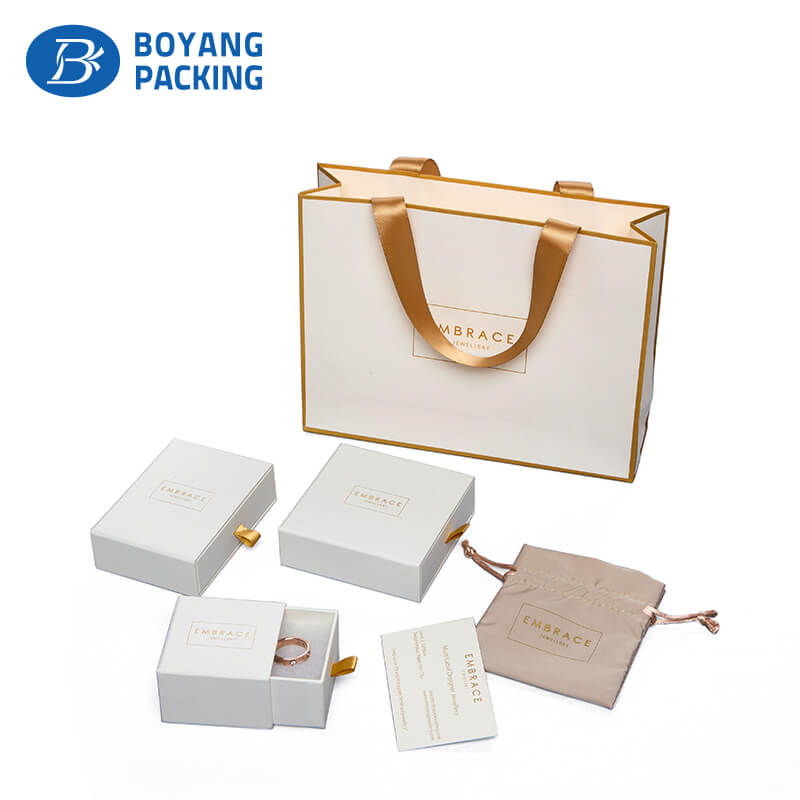 drawer paper jewelry box manufacturers