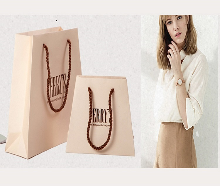environmentally friendly packaging paper bag factory