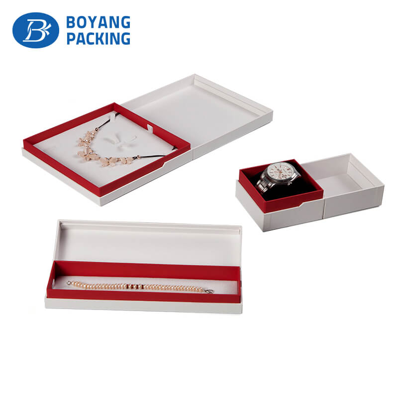 Custom high quality unique jewelry boxes manufacturer