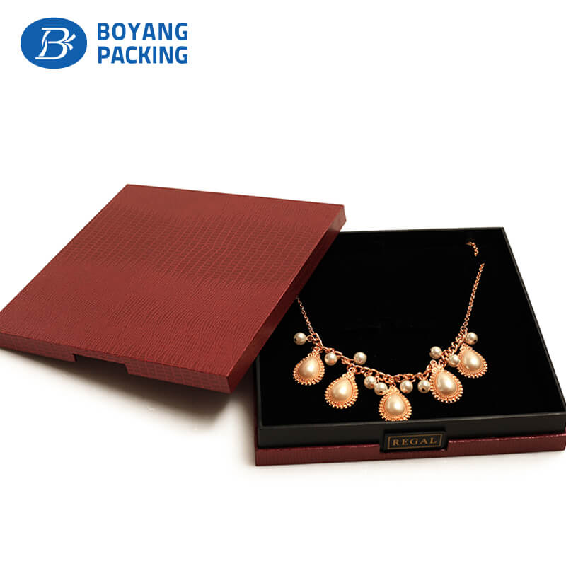 Hot selling jewelry paper box