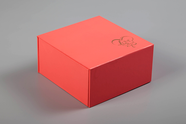 cardboard gift box with lid