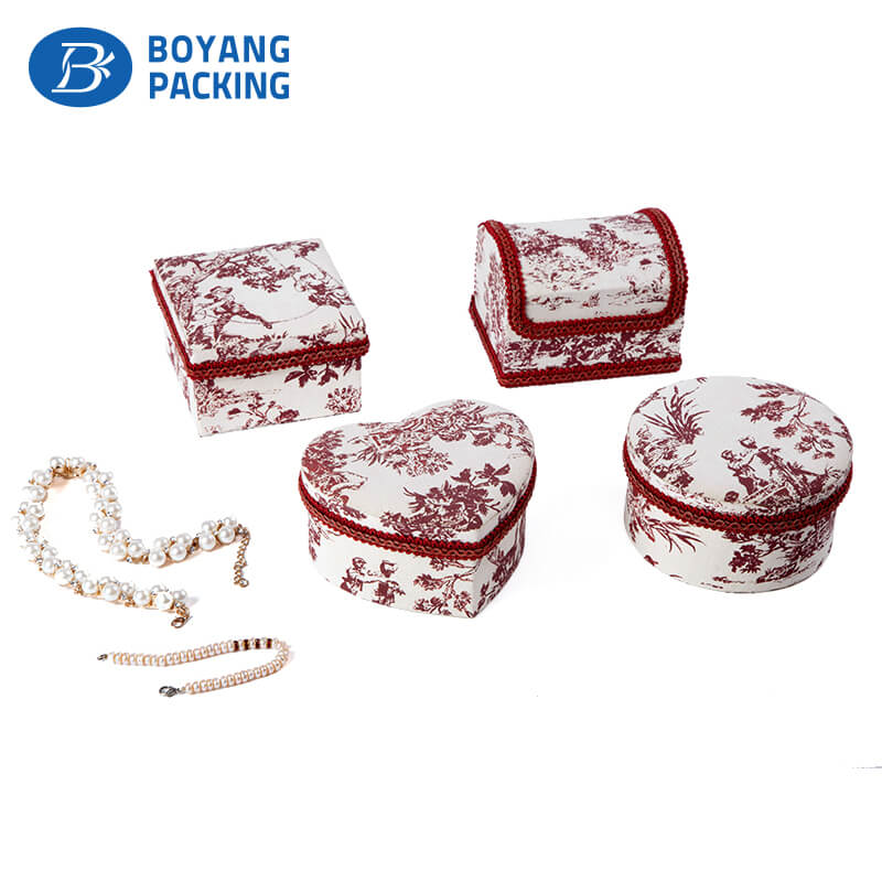 Custom jewelry box factory