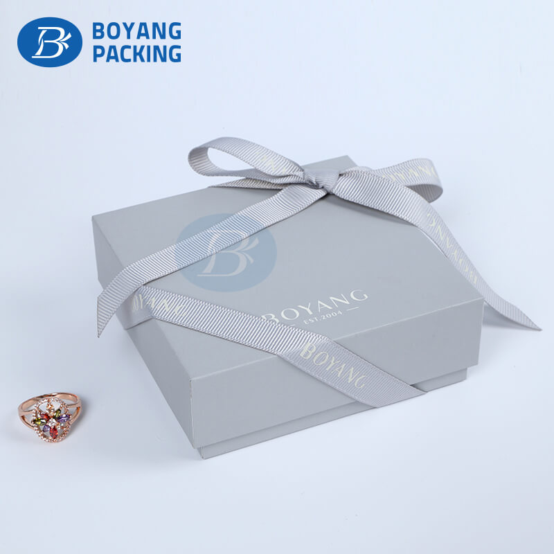 different types gift packaging box