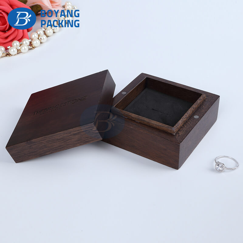 jewelry box manufacturers,Wooden jewelry packaging box wholesale