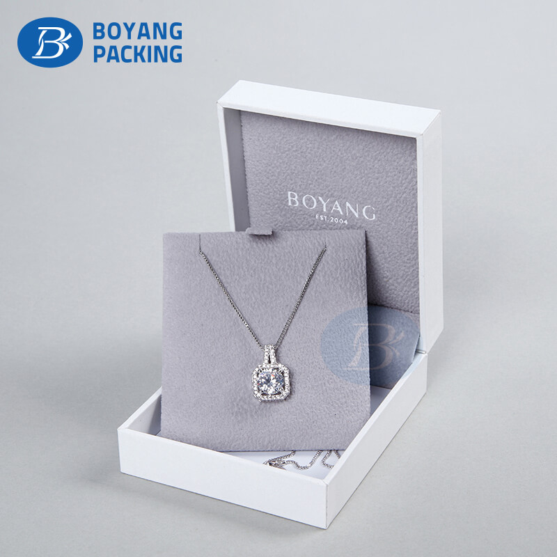 High quality necklace box wholesale ,jewelry box manufacturers