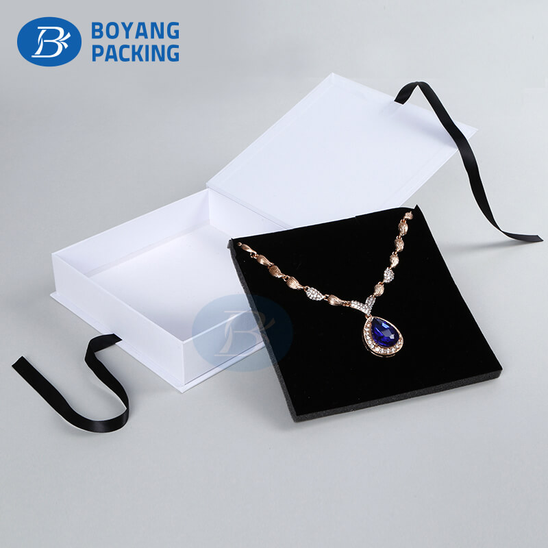 necklace paper jewelry  box wholesale