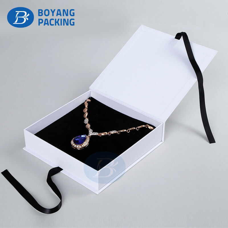 porcelain necklace paper jewelry  box wholesale